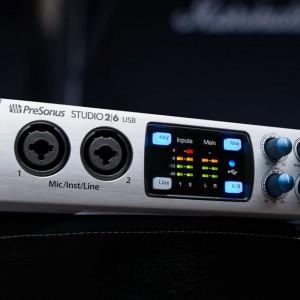 Studio 2 6 Studio 6 8 Audio Interface