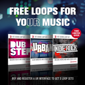 Buy and register a UR interface to get 3 loop sets