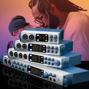 Studio 1810 and Studio 1824 Audio Interface