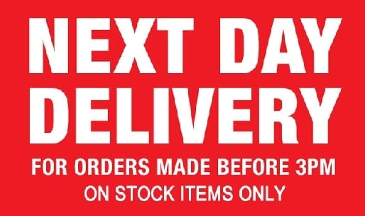 Upgrade to free next day delivery