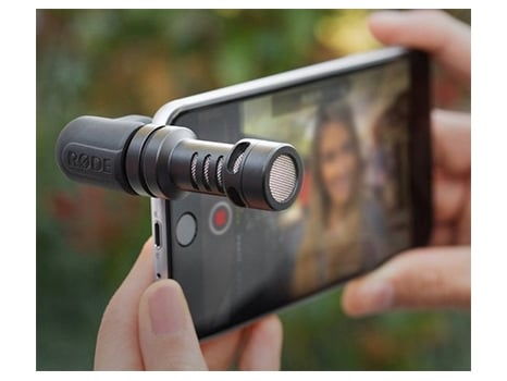 iPhone recording with RODE microphone