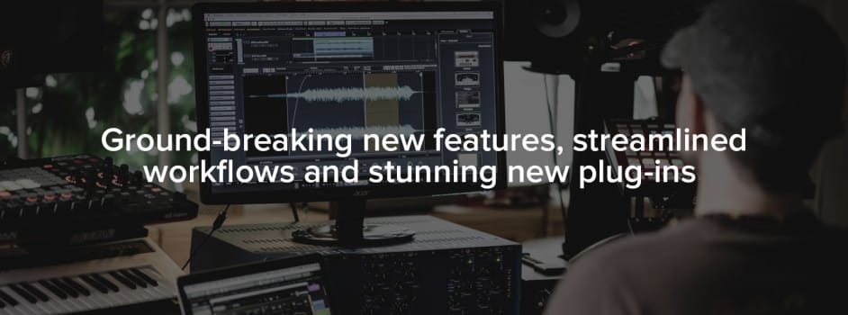 Cubase 9 ground-breaking new features