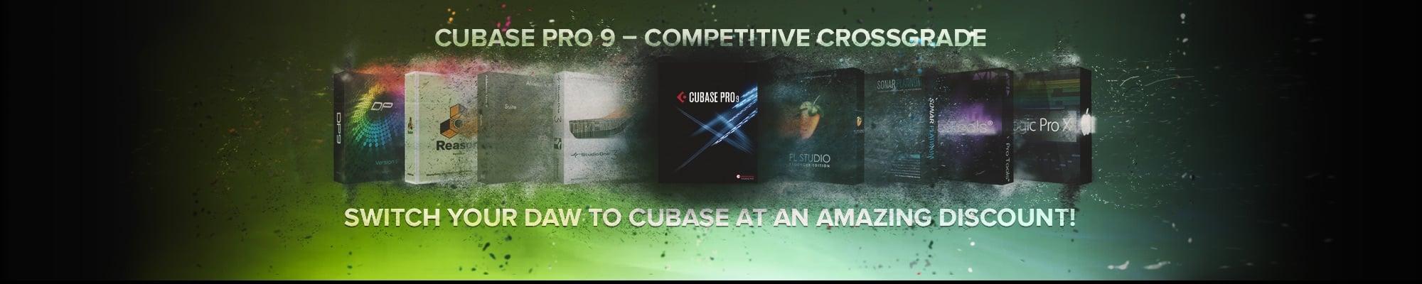 Cubase Pro 9 – Competitive Crossgrade
