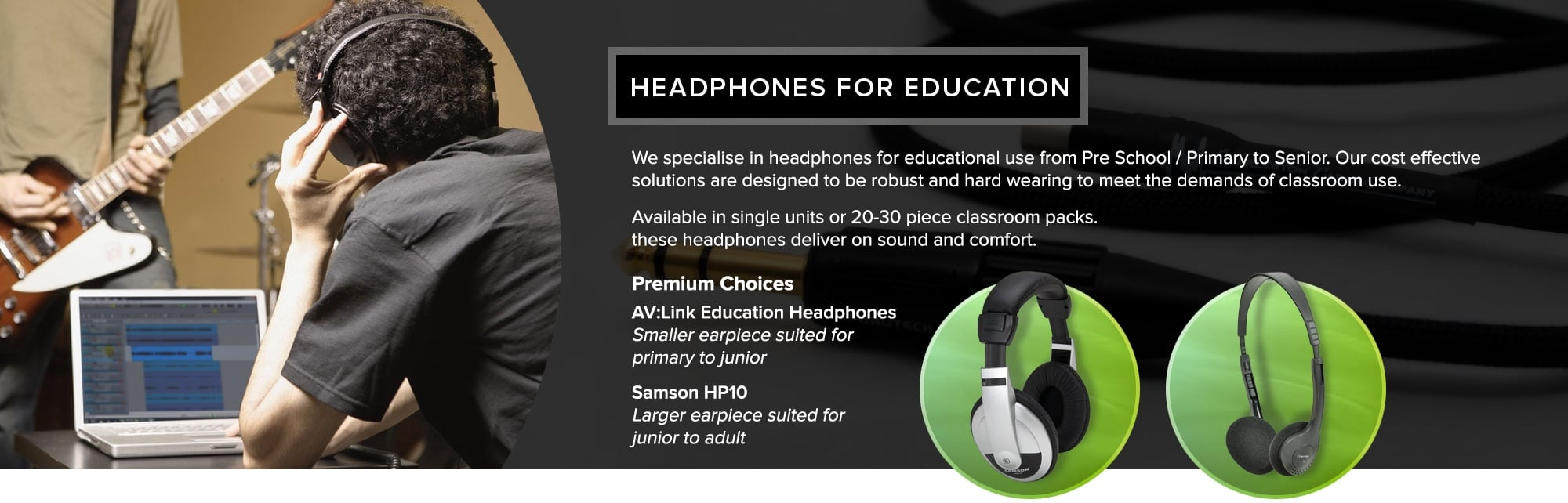 Headphones For Education