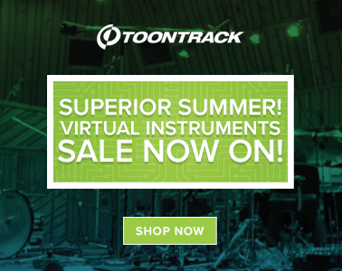 Toontrack Superior Drummer Sale now on!
