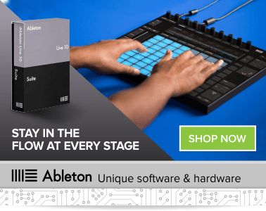 Ableton Live 10 Suite | Standard & Intro - Buy at the best price with the Ableton Push Controller