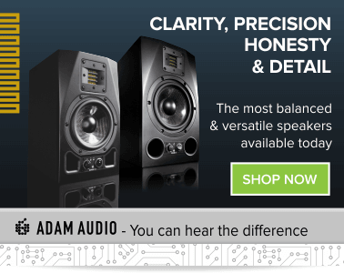 Buy Adam Audio Studio Monitors | T5V - T7V - A3x - A7X - In Stock | Inta Audio