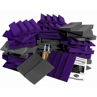Auralex D36-DST Acoustic Foam Kit (Purple)