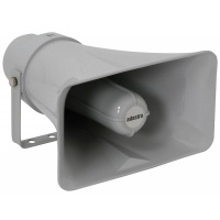 Adastra Heavy Duty Rectangular Horn Speakers, 100V Line, 15W