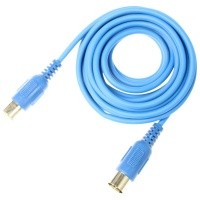 Adam Hall 3m MIDI Cable - 3 Star Pro Series - Blue
