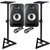 Tannoy Reveal 502 [Pair] with Stands and Cables