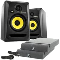KRK Rokit RP5 G3 Active Studio Monitors - £50 FREE Studio Speaker Kit