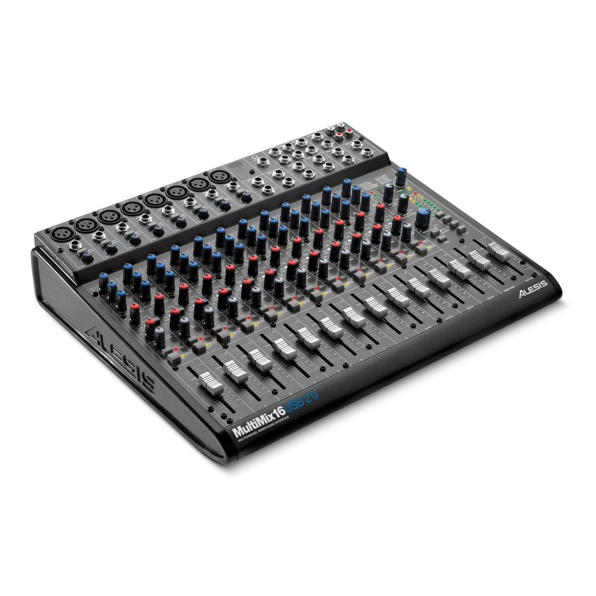 Alesis Multimix 16 Usb 2 0 Mixer Audio Interface