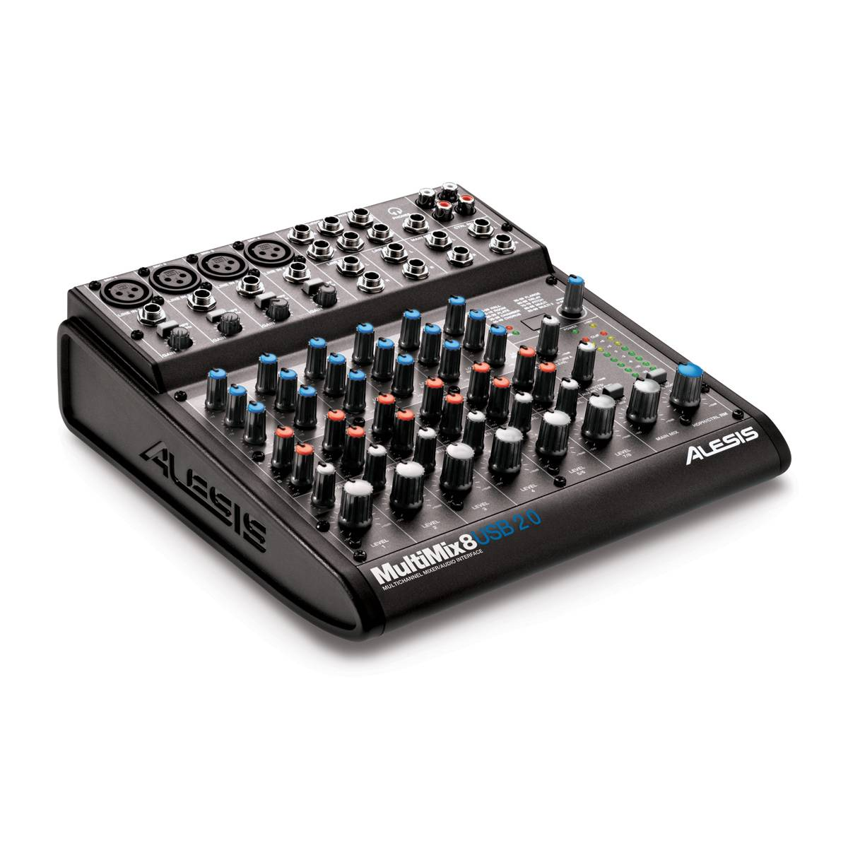 alesis multimix 8 usb 2 0 mixer audio interface. Black Bedroom Furniture Sets. Home Design Ideas