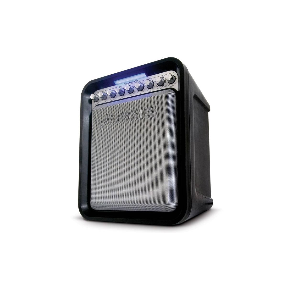 Alesis Transactive 50 Portable Pa Speaker Complete Pa