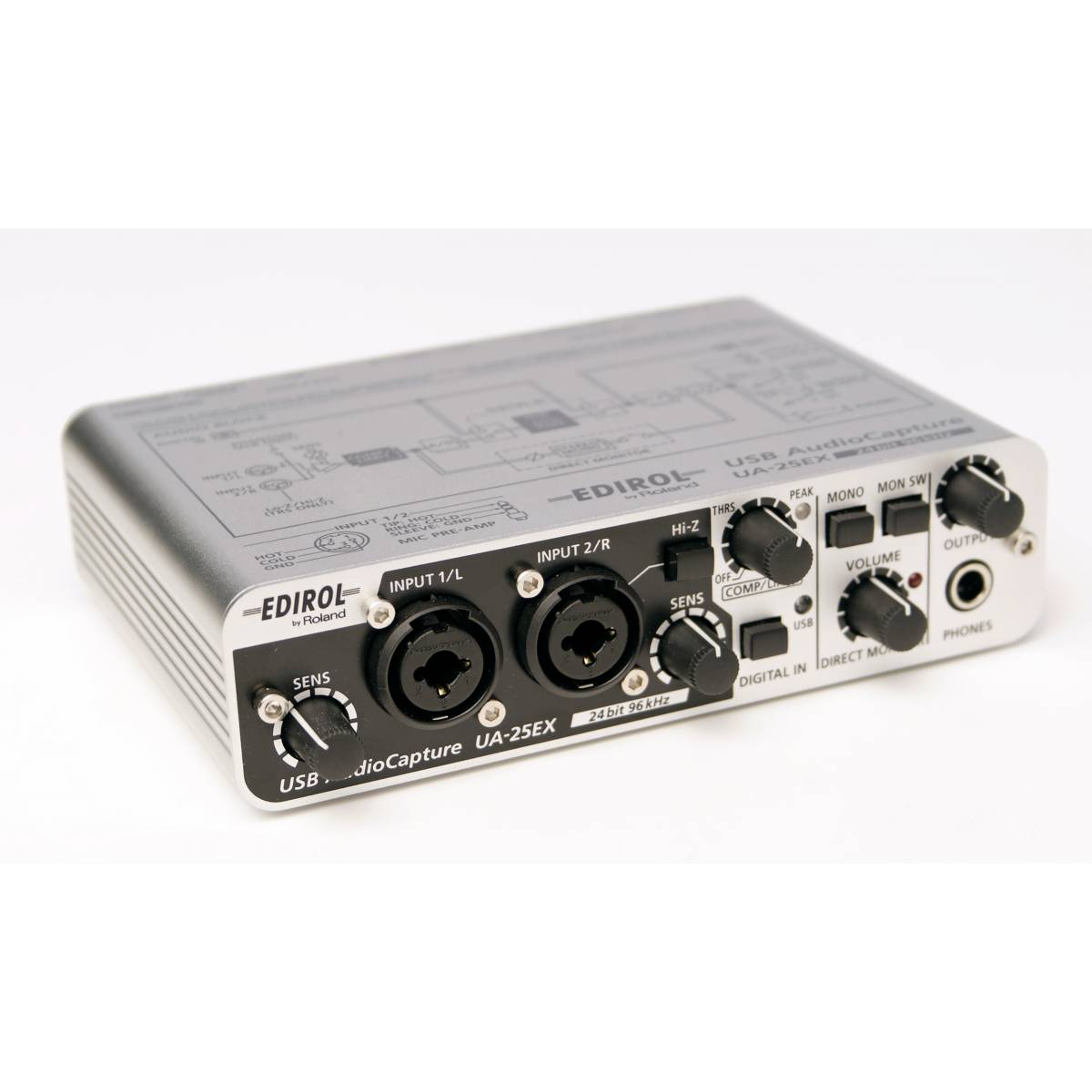 cakewalk ua 25ex usb audio interface usb interfaces from inta audio uk. Black Bedroom Furniture Sets. Home Design Ideas