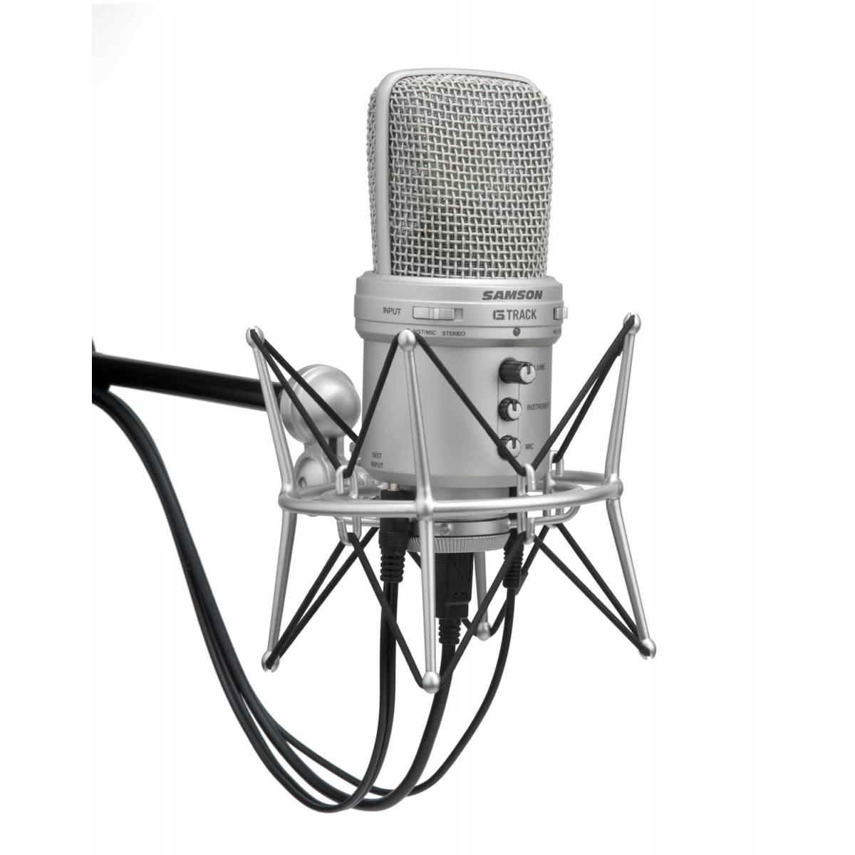 New Samson G Track Usb Studio Condenser Microphone