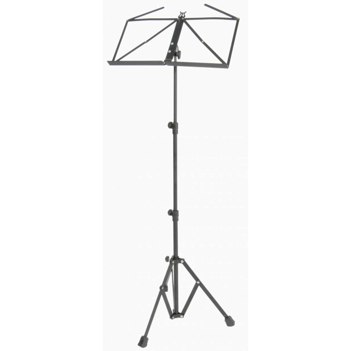 black heavy duty foldable sheet music stand. Black Bedroom Furniture Sets. Home Design Ideas