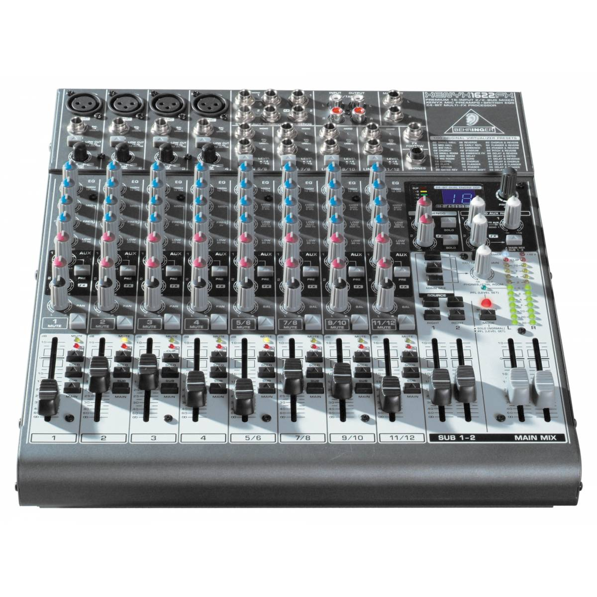 behringer xenyx 1622fx analogue mixer. Black Bedroom Furniture Sets. Home Design Ideas