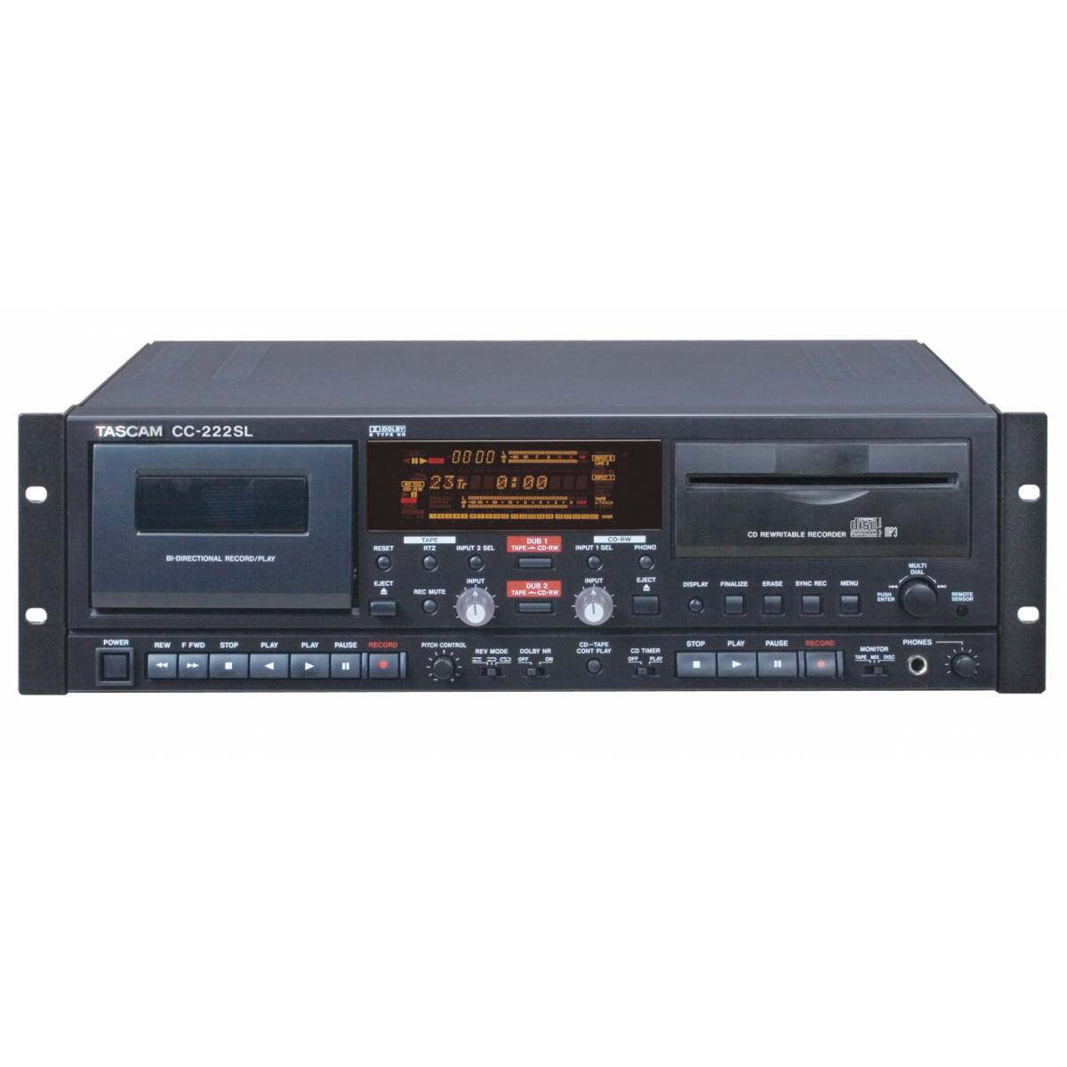 Tascam Cc 222sl Cd And Tape Player