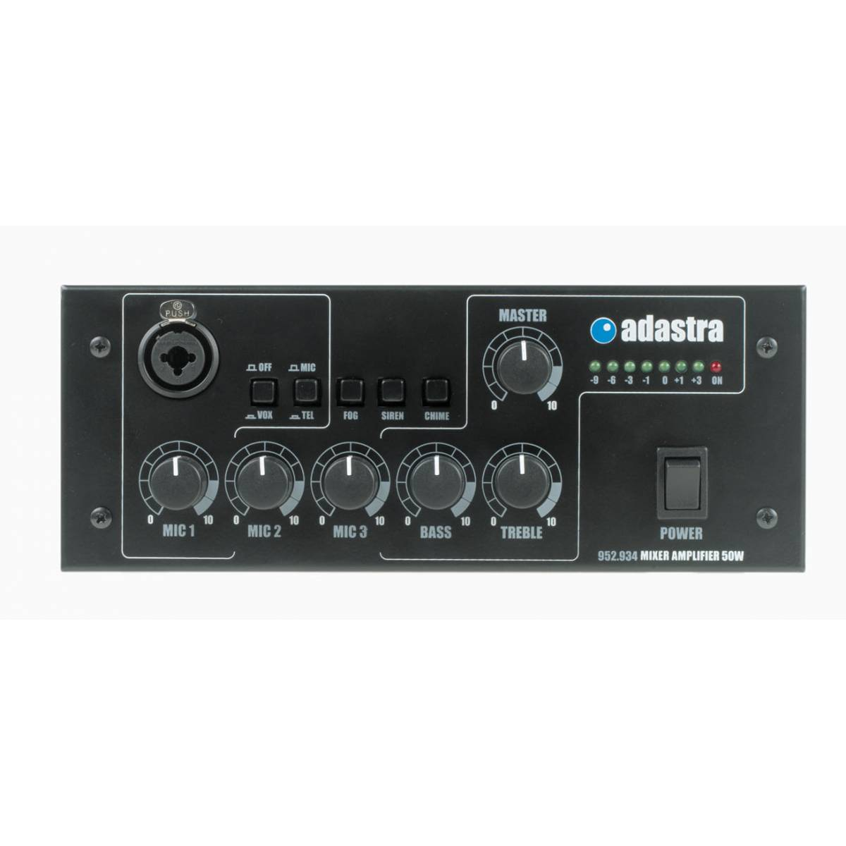 Adastra 3 Channel Mixer Amplifier 50w Rms 100v Line