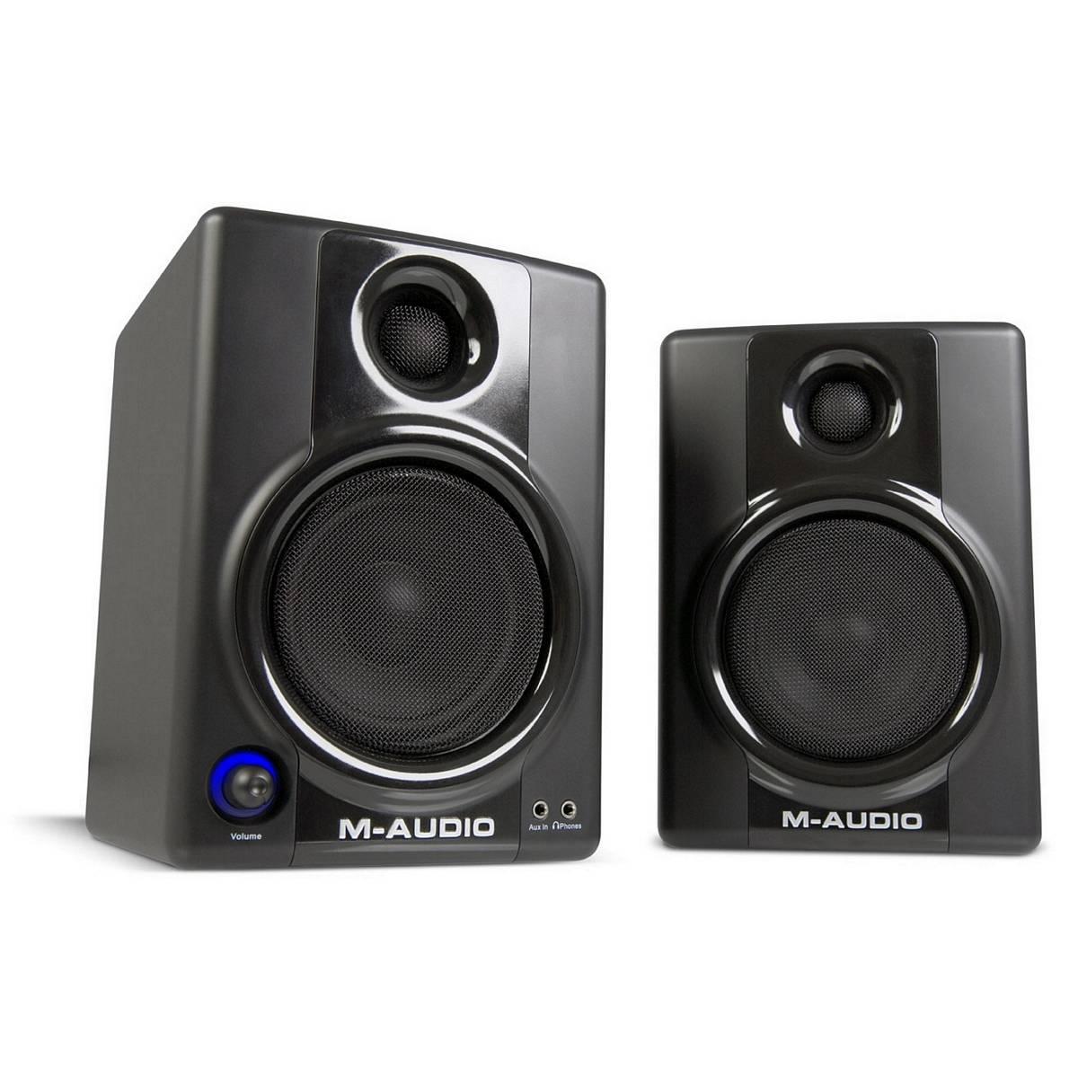 m audio av40 studio monitors v2 pair monitoring from inta audio uk. Black Bedroom Furniture Sets. Home Design Ideas