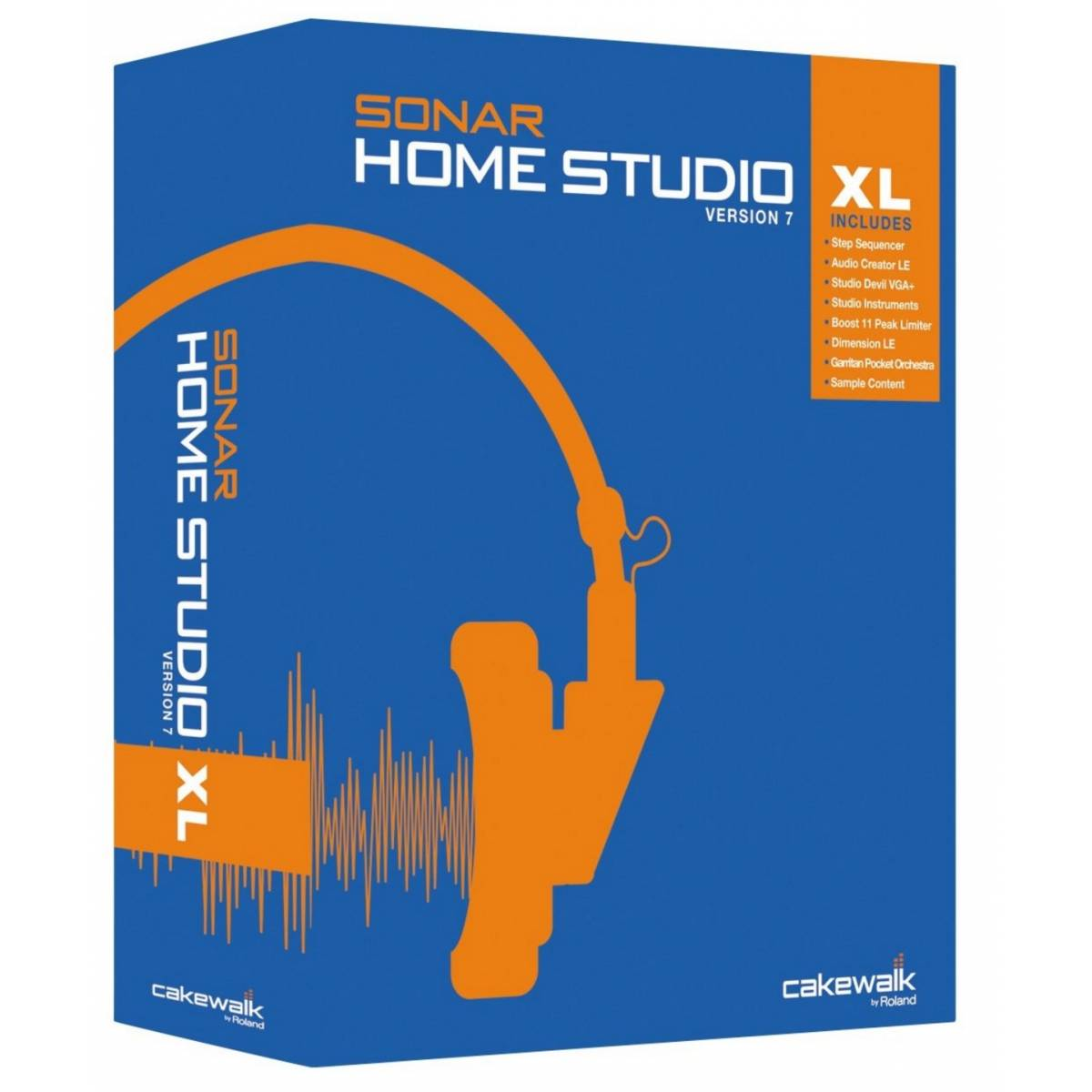 cakewalk sonar home studio 7 xl student teacher recording software from inta audio uk. Black Bedroom Furniture Sets. Home Design Ideas