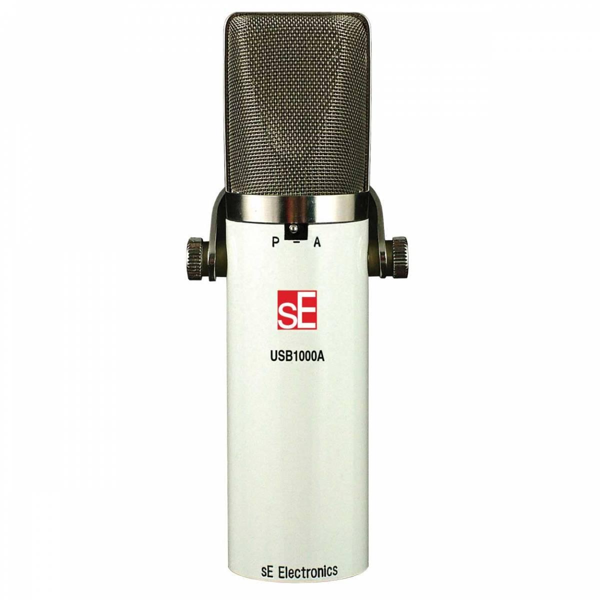 se electronics usb1000a usb condenser microphone usb microphones from inta audio uk. Black Bedroom Furniture Sets. Home Design Ideas