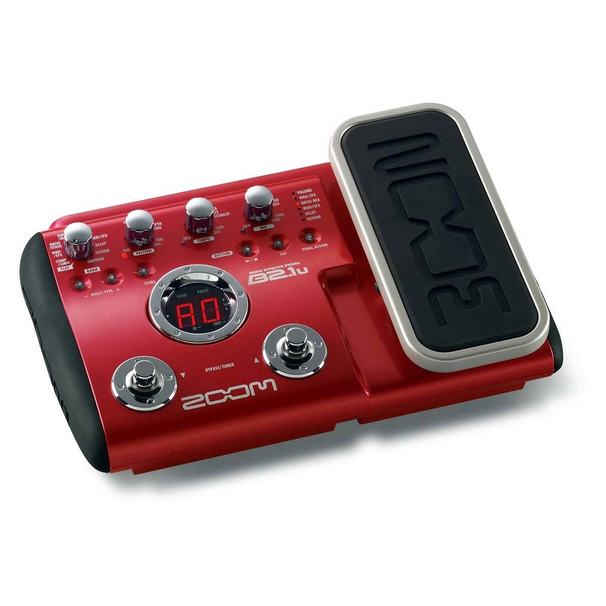 zoom b2 1u bass multi effects pedal. Black Bedroom Furniture Sets. Home Design Ideas