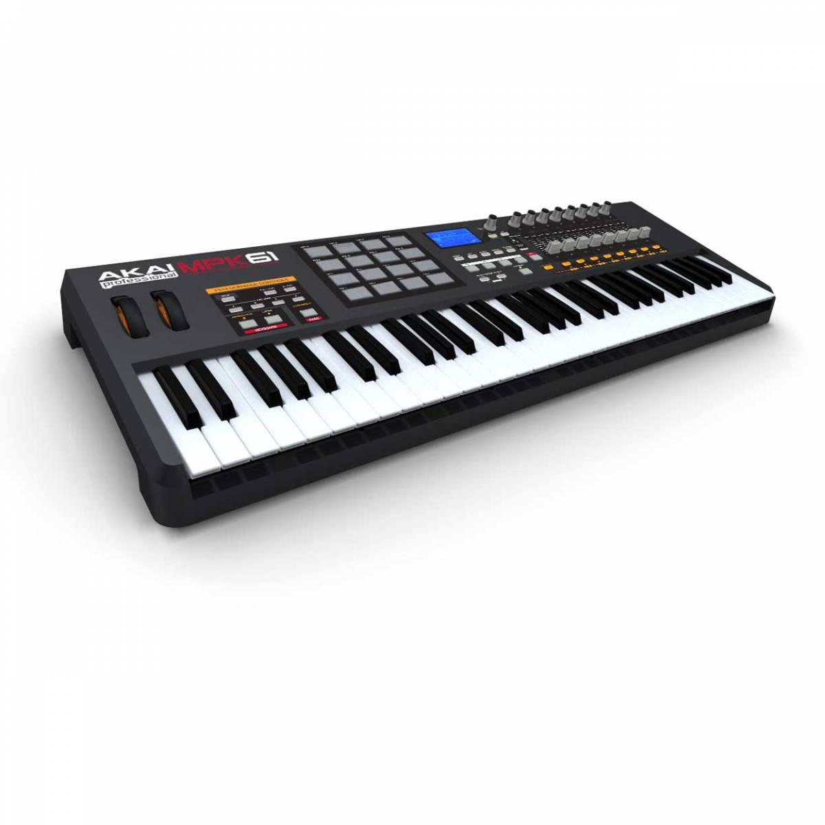 akai mpk61 61 key usb midi keyboard controller mpk 61 keyboards midi from inta audio uk. Black Bedroom Furniture Sets. Home Design Ideas