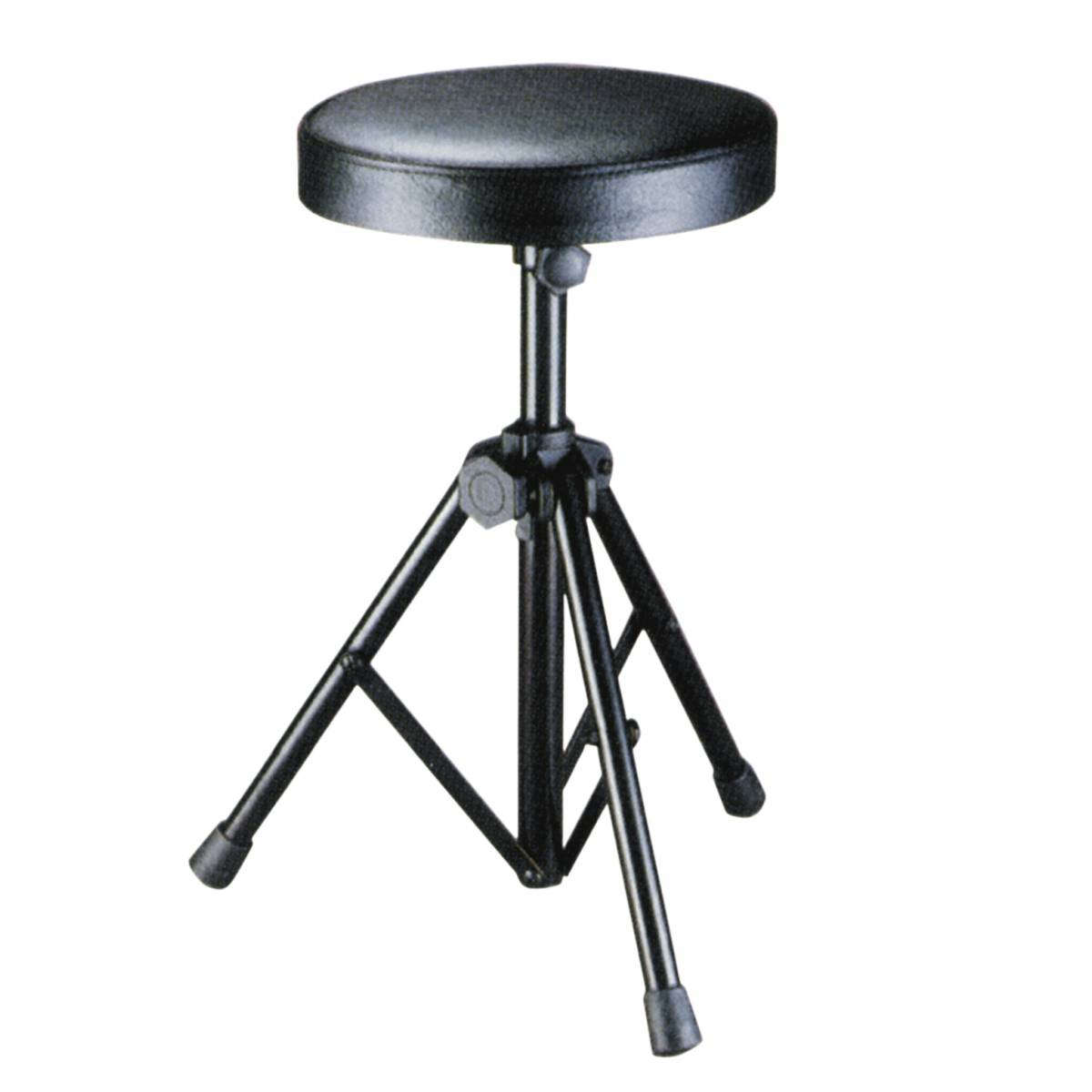 Height Adjusted Round Drum Stool