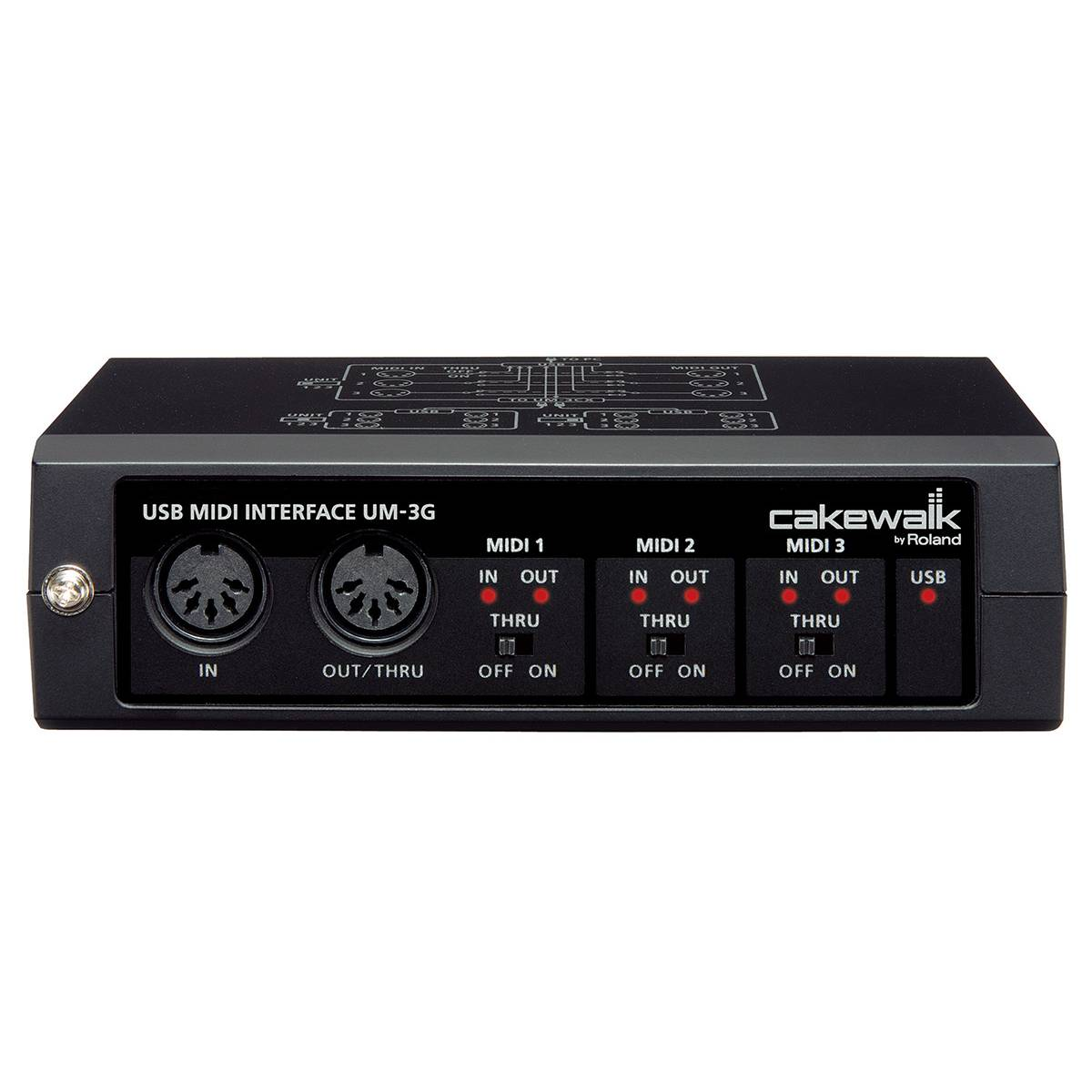 cakewalk um 3g usb midi interface midi interfaces from inta audio uk. Black Bedroom Furniture Sets. Home Design Ideas