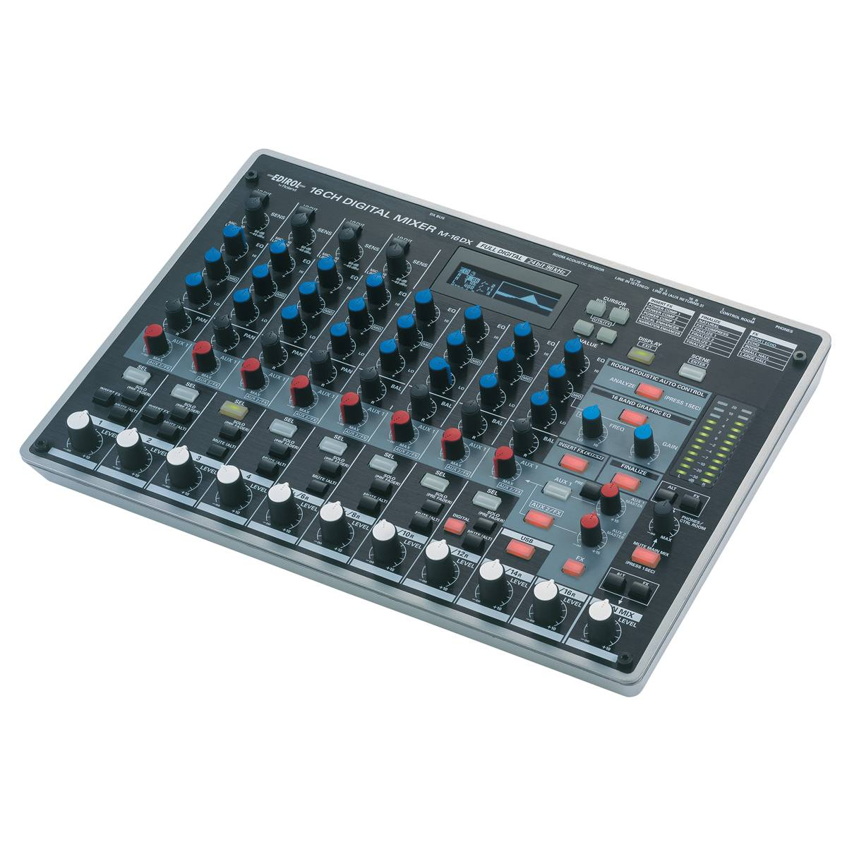 edirol m 16dx digital audio mixer interface usb interfaces from inta audio uk. Black Bedroom Furniture Sets. Home Design Ideas