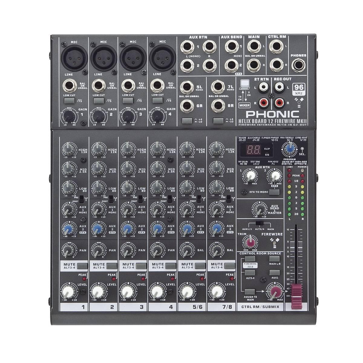 Phonic Helix Board 12 Universal Firewire Mixer