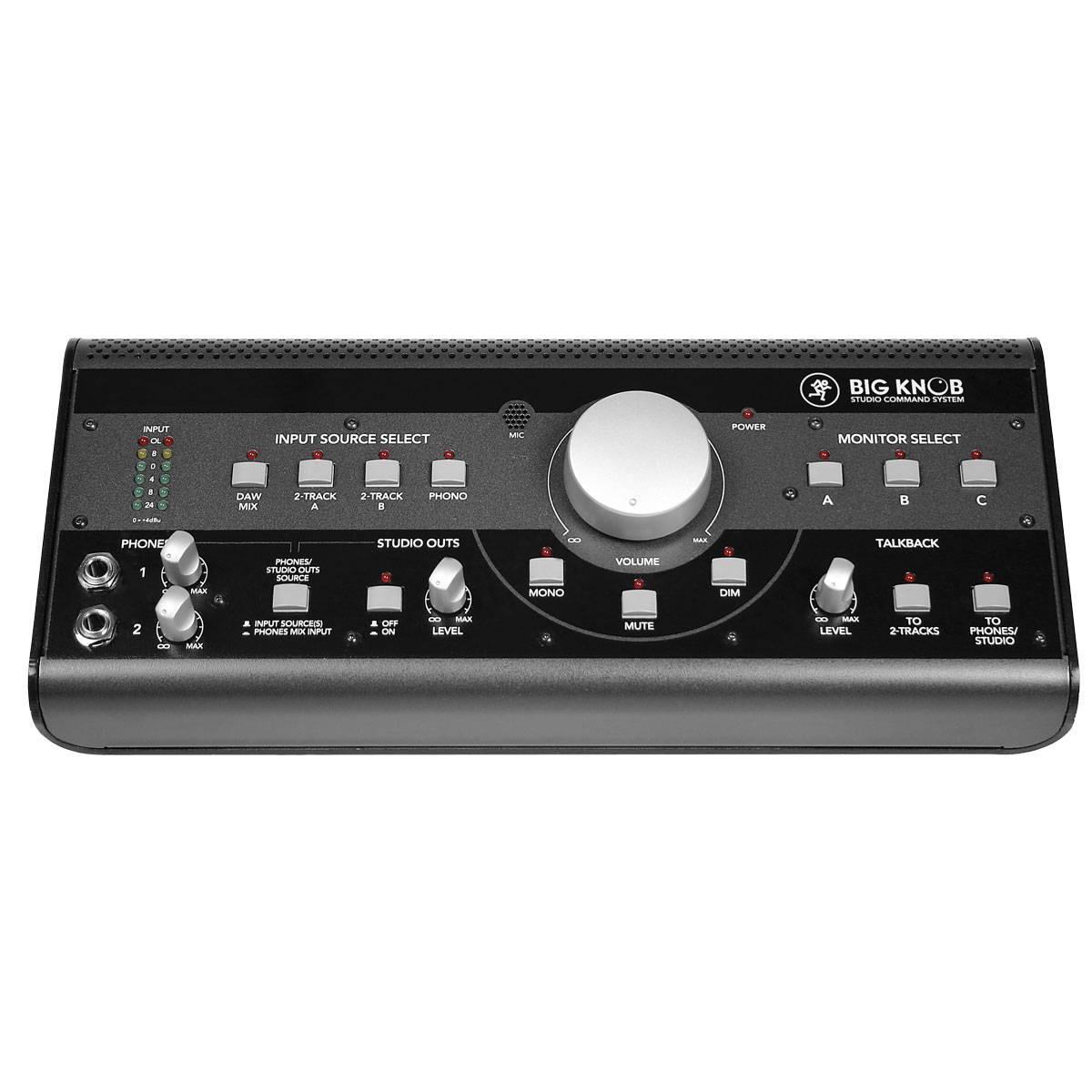 mackie big knob desktop studio command system. Black Bedroom Furniture Sets. Home Design Ideas