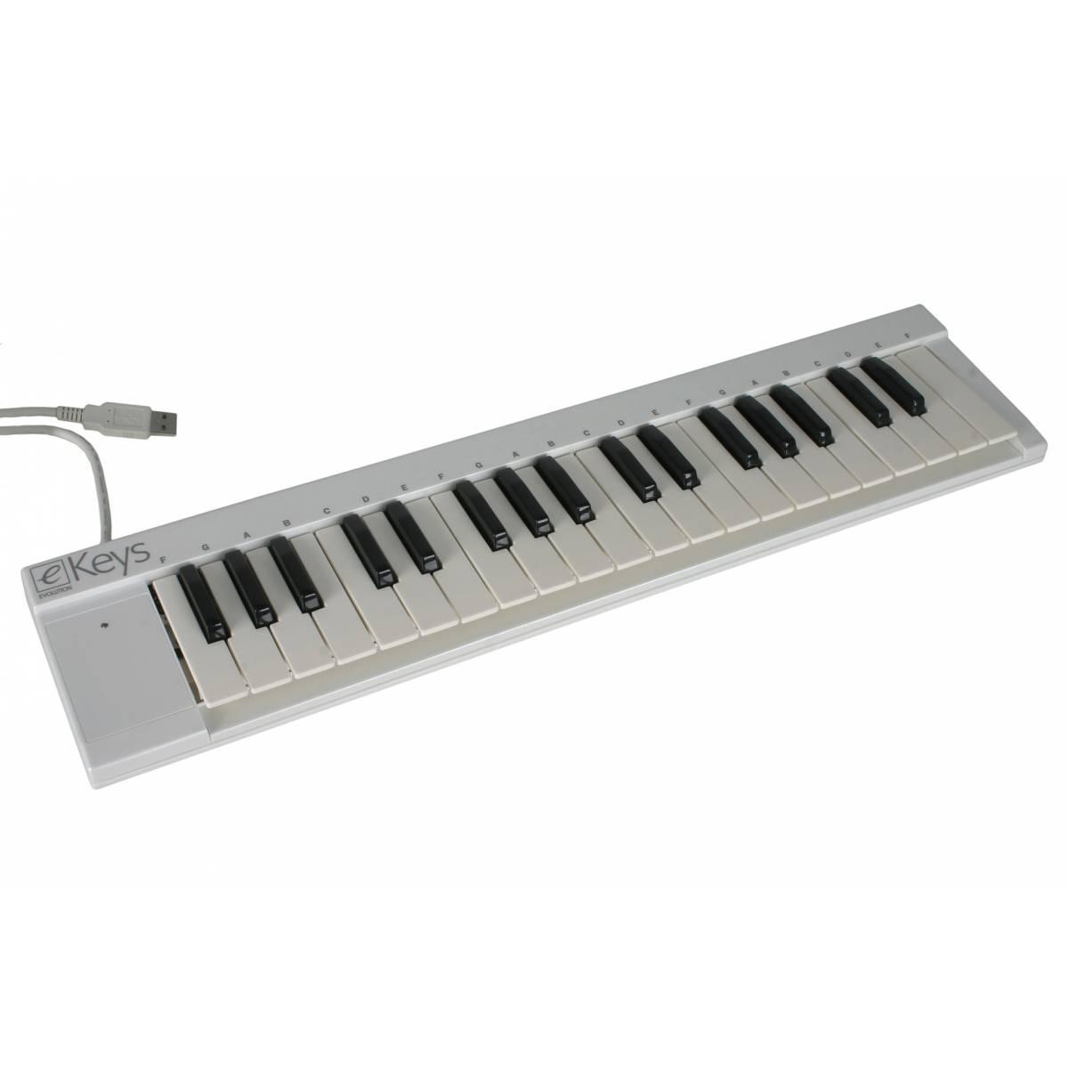 m audio e keys 37 compact mini keyboard 37 key midi keyboard from inta audio uk. Black Bedroom Furniture Sets. Home Design Ideas