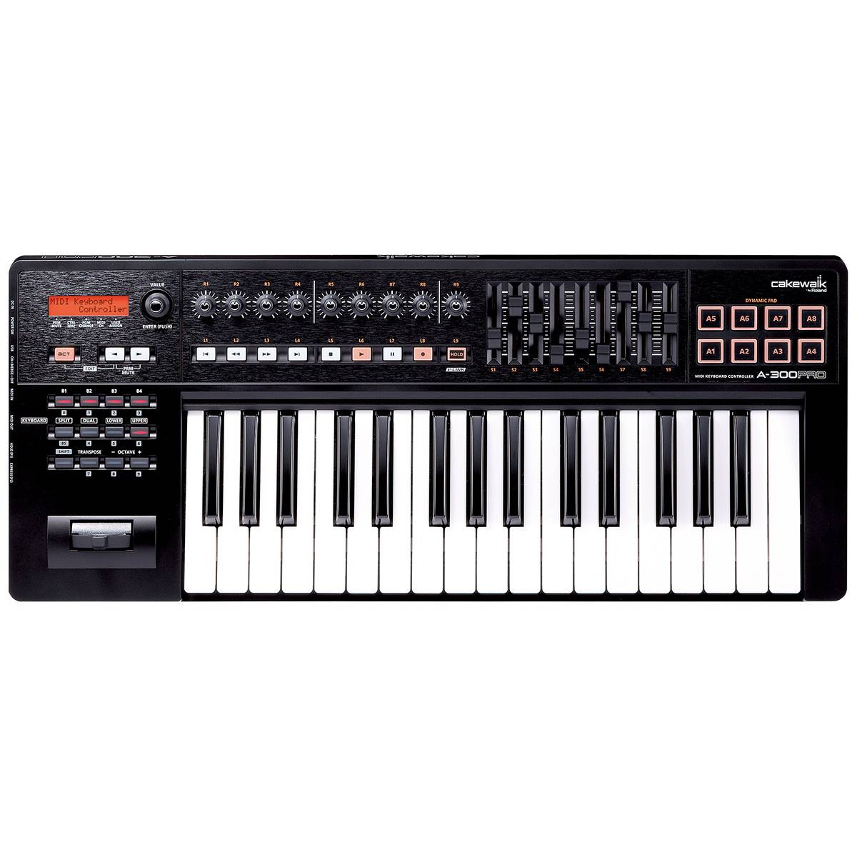 roland a 300 pro usb midi keyboard controller 37 key midi keyboard from inta audio uk. Black Bedroom Furniture Sets. Home Design Ideas