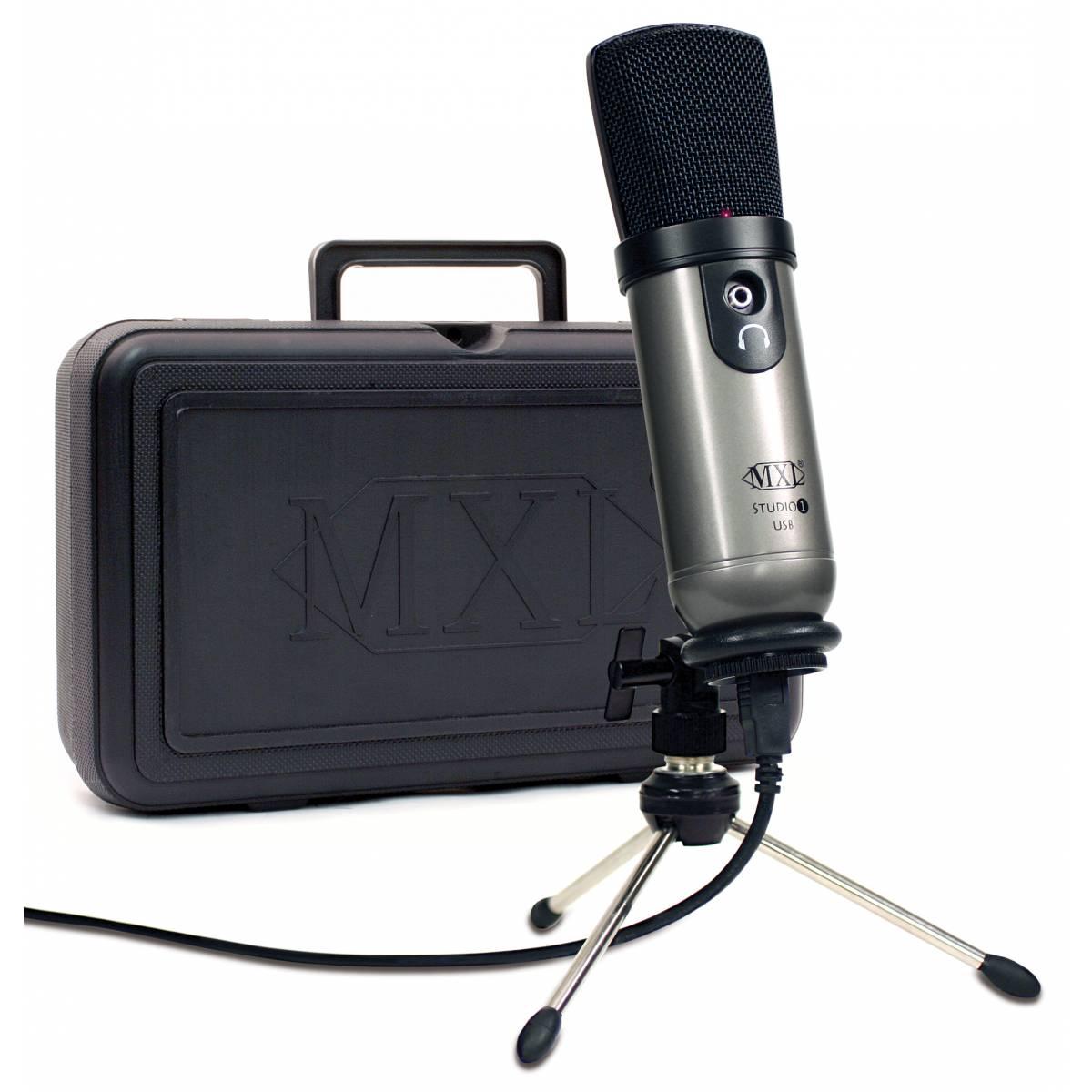 mxl studio 1 pro usb microphone usb microphones from inta audio uk. Black Bedroom Furniture Sets. Home Design Ideas