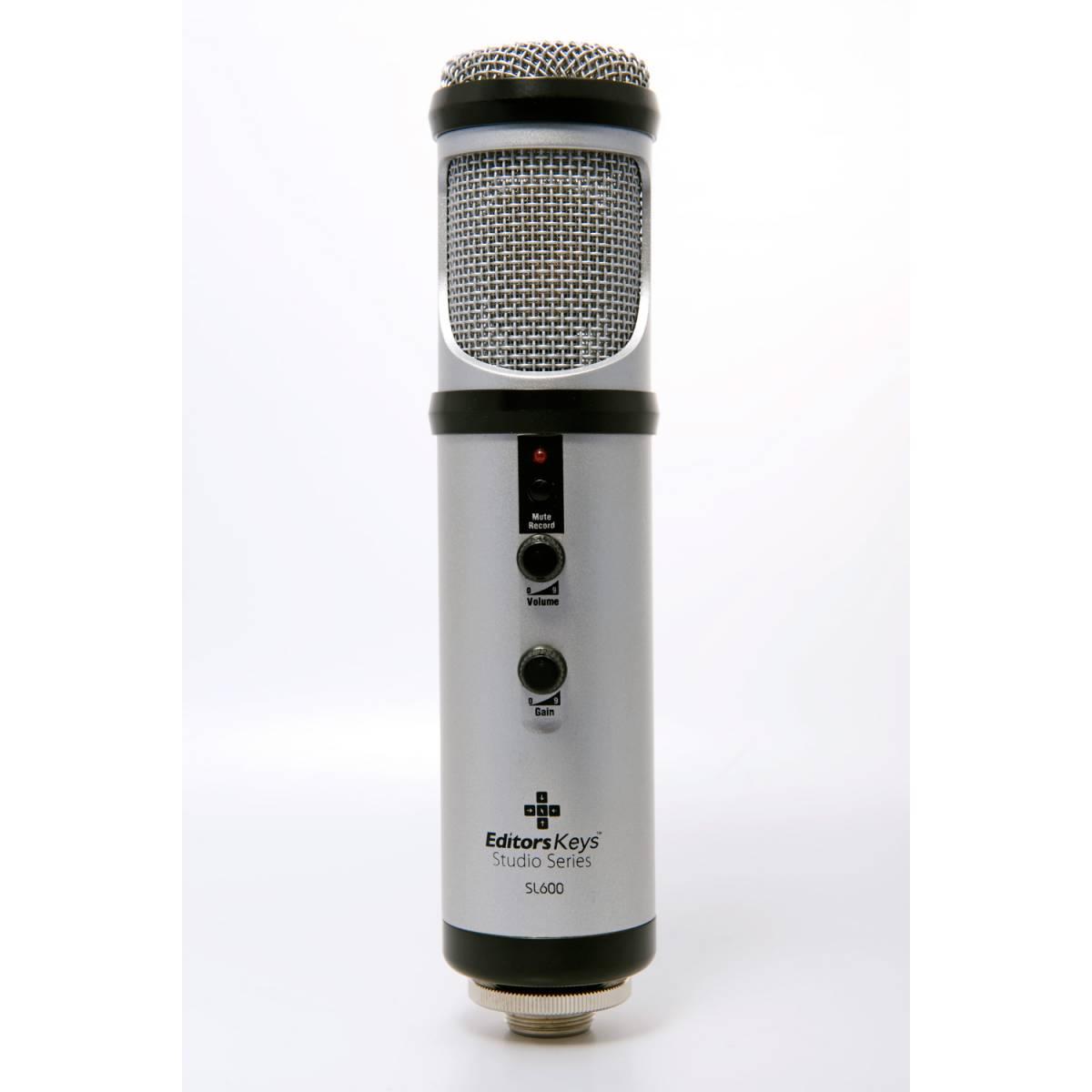 editors keys sl600 usb studio mic and shockmount. Black Bedroom Furniture Sets. Home Design Ideas