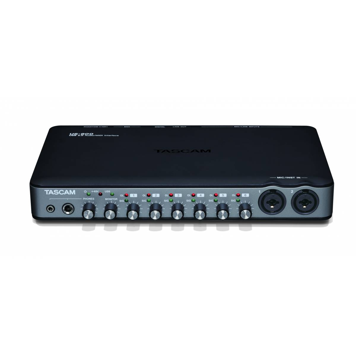 tascam us 800 usb audio interface usb interfaces from inta audio uk. Black Bedroom Furniture Sets. Home Design Ideas