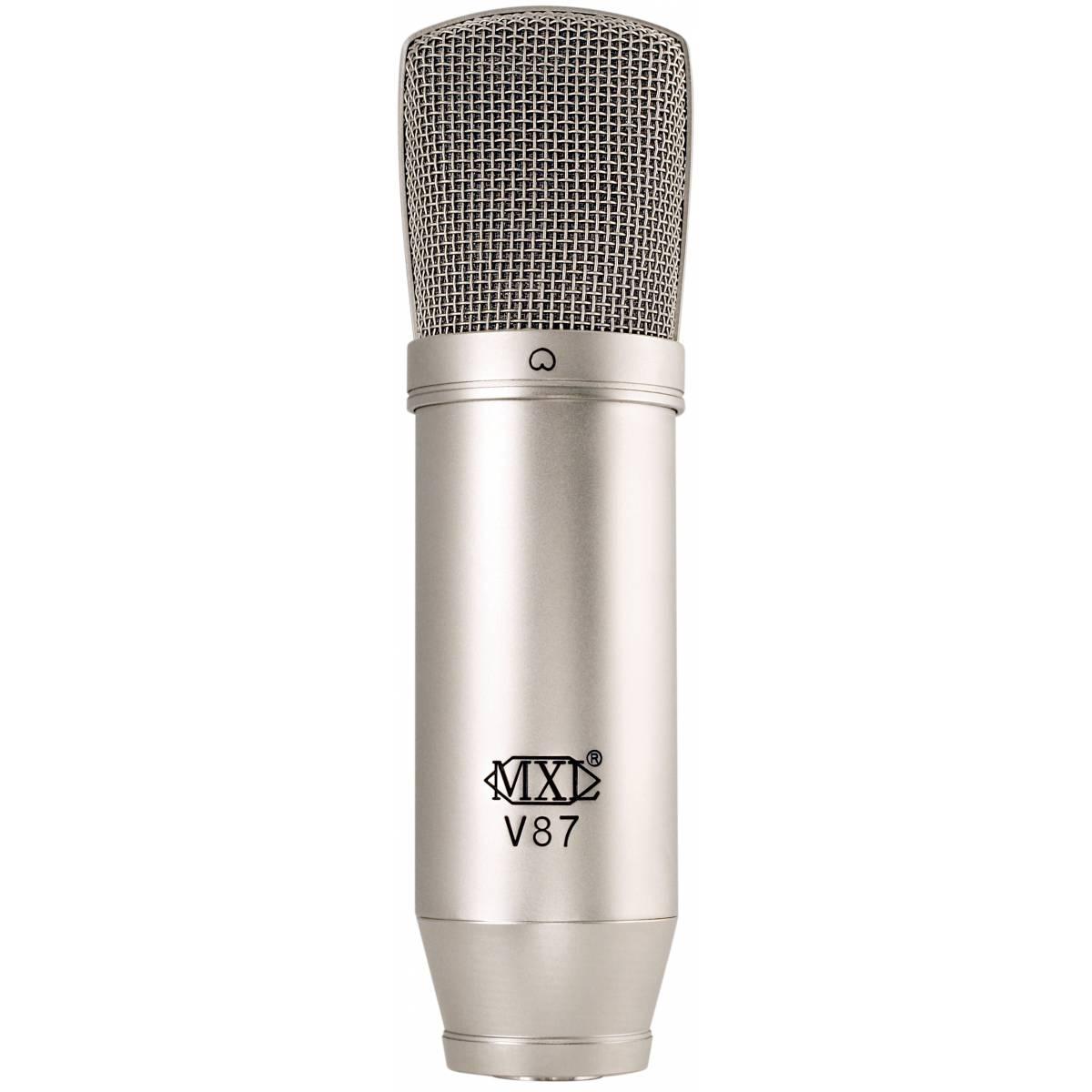 mxl v87 condenser microphone condenser microphones from inta audio uk. Black Bedroom Furniture Sets. Home Design Ideas