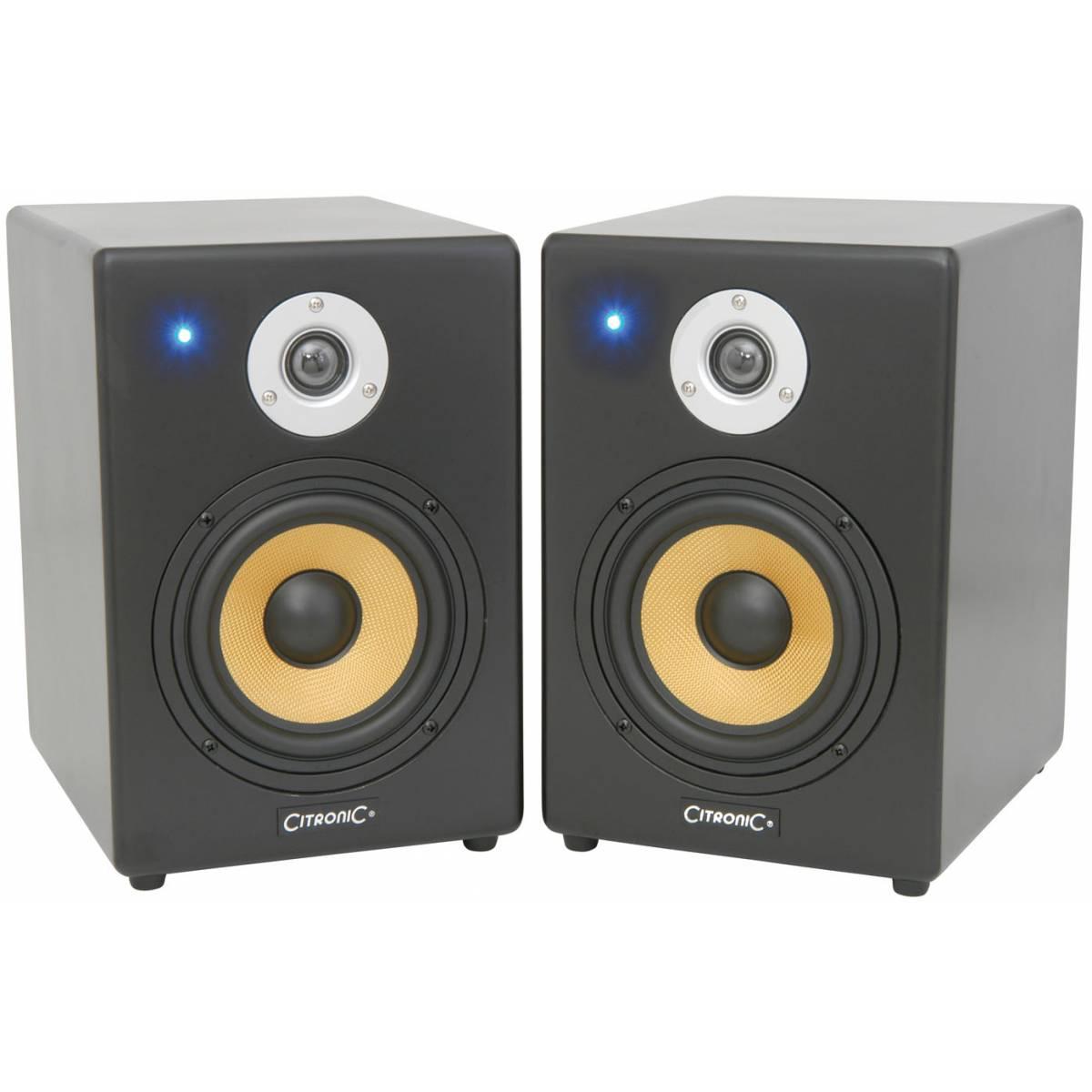 citronic st6 mkii active studio monitors pair studio monitor speakers from inta audio uk. Black Bedroom Furniture Sets. Home Design Ideas