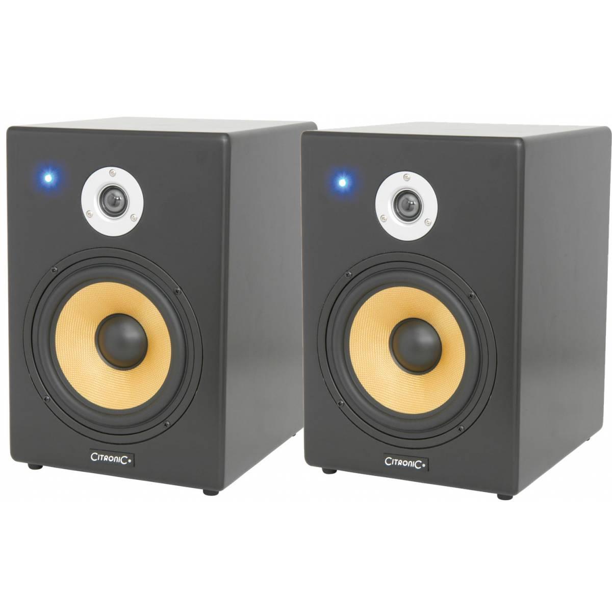 citronic st8 mkii active studio monitors pair studio monitor speakers from inta audio uk. Black Bedroom Furniture Sets. Home Design Ideas