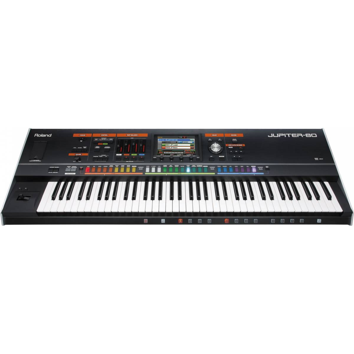 roland jupiter 80 synthesizer 76 key midi keyboard from inta audio uk. Black Bedroom Furniture Sets. Home Design Ideas