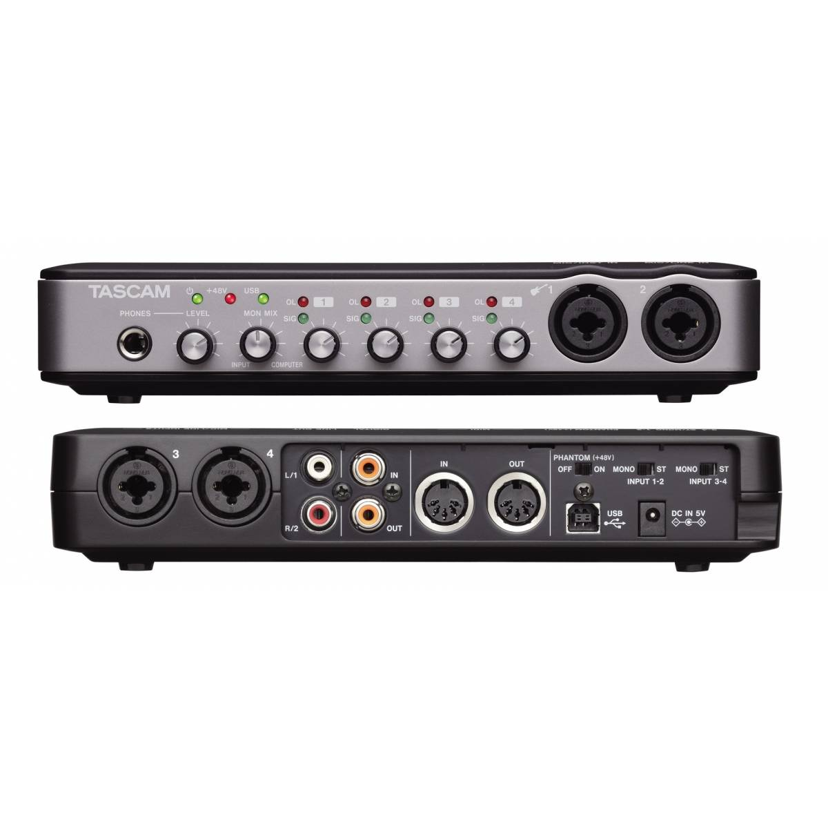 tascam us 600 pc audio interface usb interfaces from inta audio uk. Black Bedroom Furniture Sets. Home Design Ideas