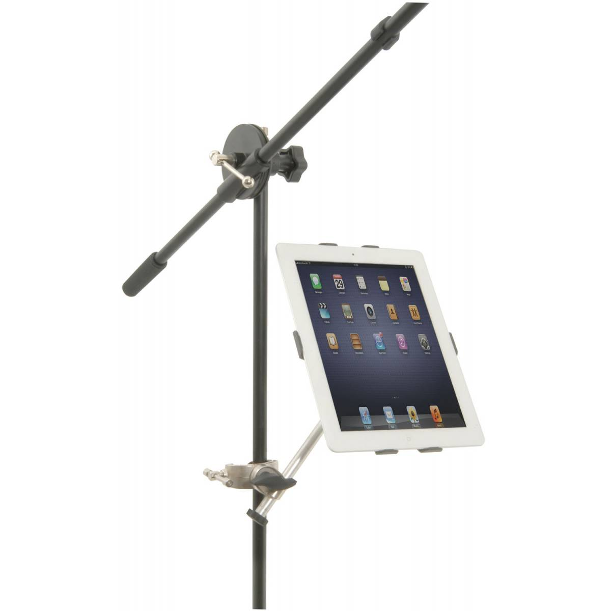 music stand mount for ipad. Black Bedroom Furniture Sets. Home Design Ideas