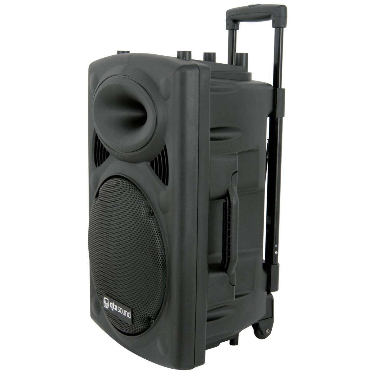 qtx qr12pa portable pa bundle complete pa system from inta audio uk. Black Bedroom Furniture Sets. Home Design Ideas