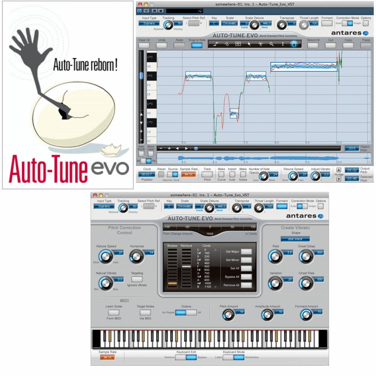 antares auto tune evo native plugin effects from inta audio uk. Black Bedroom Furniture Sets. Home Design Ideas