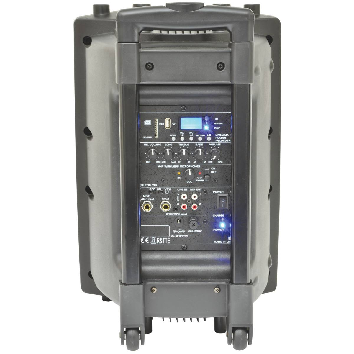 qtx qr10pa portable pa system complete pa system from inta audio uk. Black Bedroom Furniture Sets. Home Design Ideas