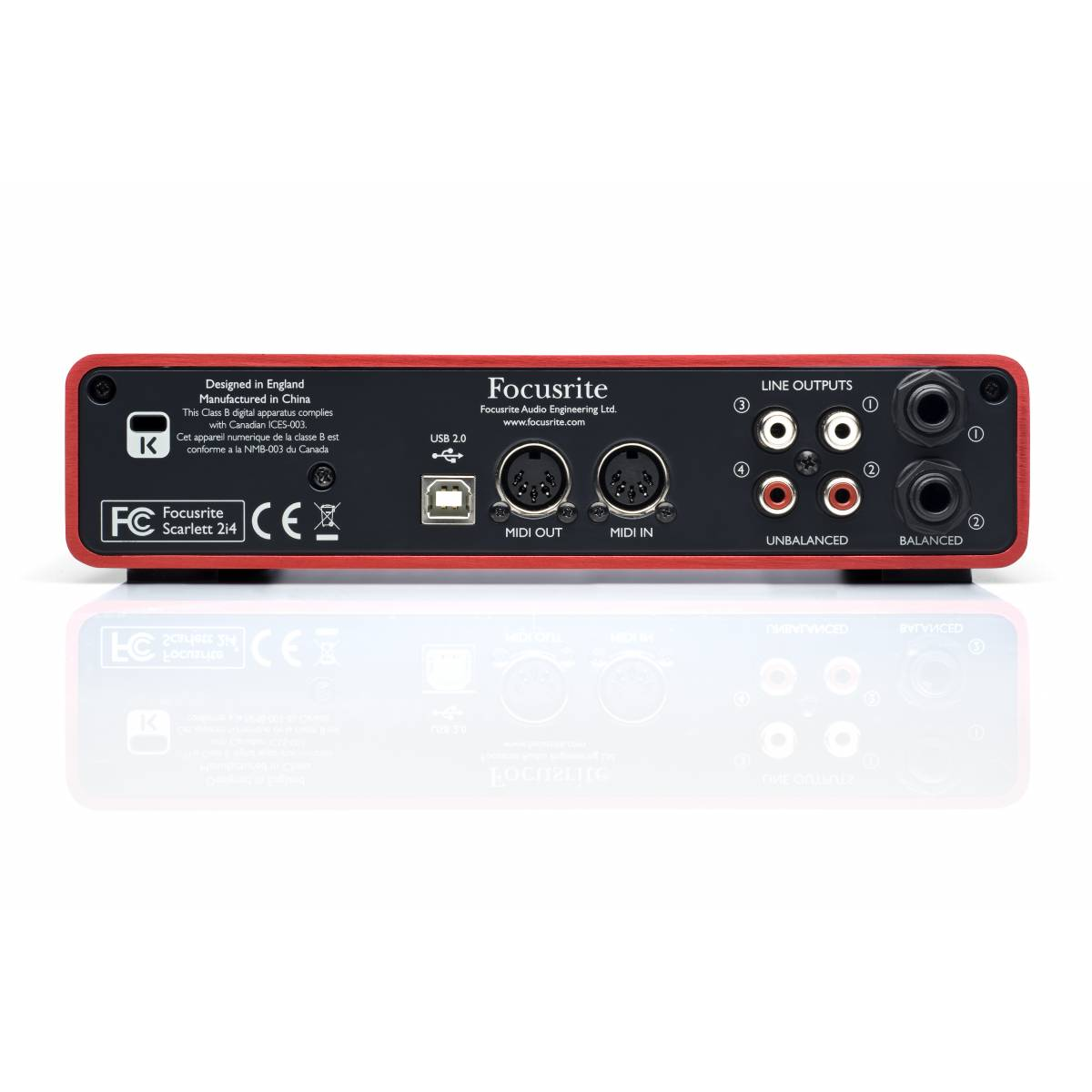 da Audio Interfaces Focusrite USB